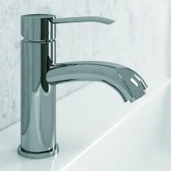Rubinetto per lavabo bagno in ottone modello Armon-L