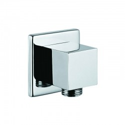 Presa acqua a muro quadrata per flessibili doccia modello KP920
