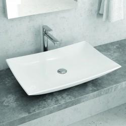 Lavabo appoggio Ultramoderno 60cm Ceramica Litos-0008