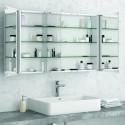 Specchio bagno contenitore da 120cm kamalu