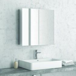 Specchio bagno con 2 ante e contenitore 60cm modello E600