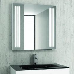 Specchio bagno 100x75 illuminazione led modello KAM-1391B