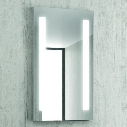 Specchio bagno rettangolare 90x50cm a led KAM-1392 kamalu