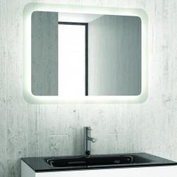 Specchio bagno led 80x60 cm reversibile modello A800