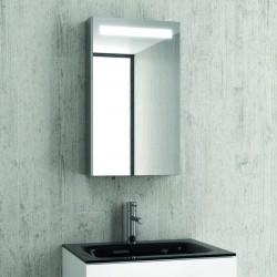 Specchiera contenitore illuminazione a led 67x40 KAM-1411