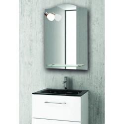 Specchio con luce e ripiano 50x70cm KAM-1431
