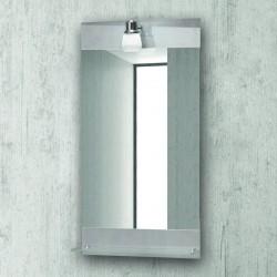 Specchio con ripiano e faretto 85x45cm KAM-142