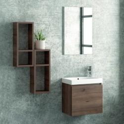 Composizione bagno sospesa mobile 45cm kamalu