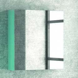 Specchio bagno contenitore in legno 60x13x75cm SP-60
