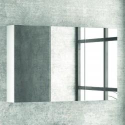 Specchio bagno contenitore in legno 100x13x75 cm SP-100