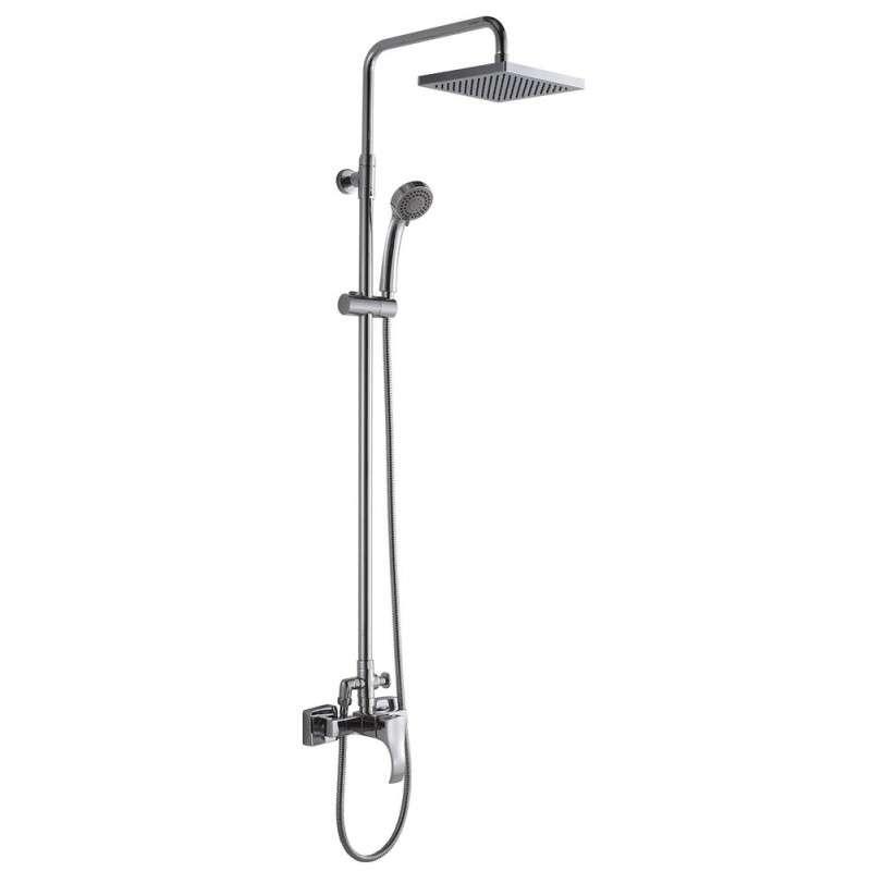 Colonna doccia con soffione 20x20cm modello Gara-CD kamalubagno