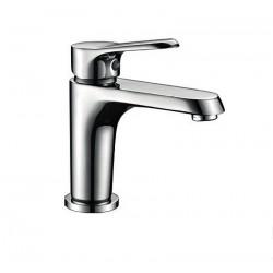 Rubinetto lavabo con scarico click-clack modello Miner-L kamalubagno