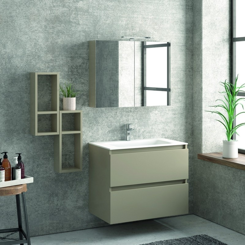 Composizione bagno 80cm - Mobili bagno Online | Kamalu Bagno