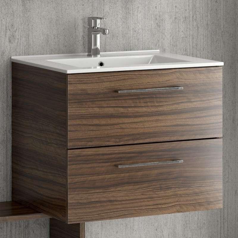 Mobiletto bagno 60cm sospeso: Mobili bagno colorati online | Kamalu