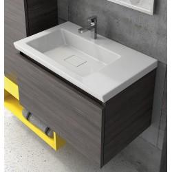 Mobile bagno sospeso 70cm kamalu
