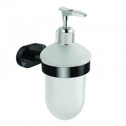 Dispenser bagno colore nero linea Nico-B6