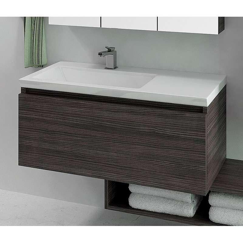 Mobile bagno da 100cm Colori vari - Design moderno |Kamalubagno.it