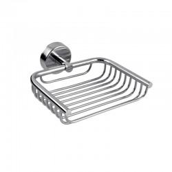 Griglia portasapone doccia in acciaio Kaman Monde-M40