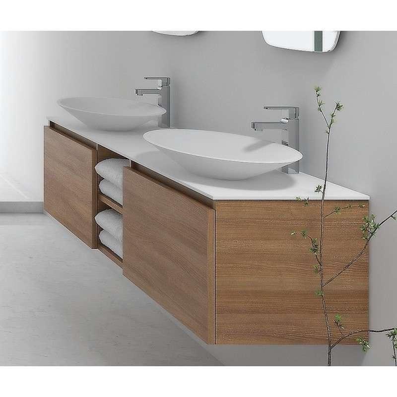 Mobile bagno da 175cm design moderno e colori guarda - Lavandino bagno moderno ...