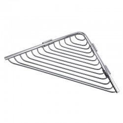 Portaoggetti doccia angolare in acciaio Kaman ALPI-G30
