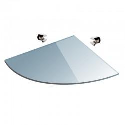 Ripiano in vetro semicircolare 20cm VITRO-330