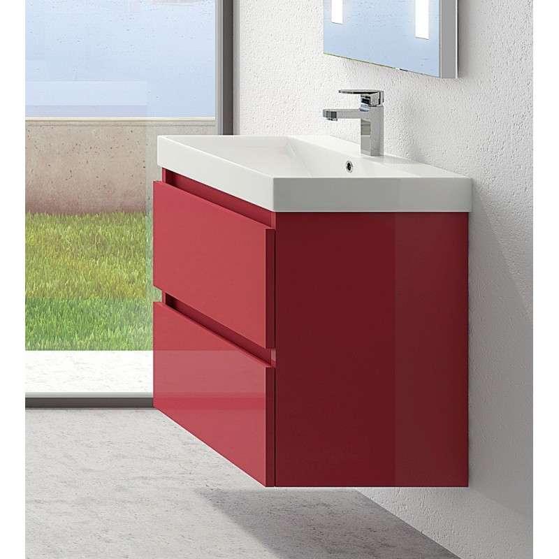 Mobili bagno colorati da 60cm guarda design prezzi kamalu - Accessori bagno colorati ...