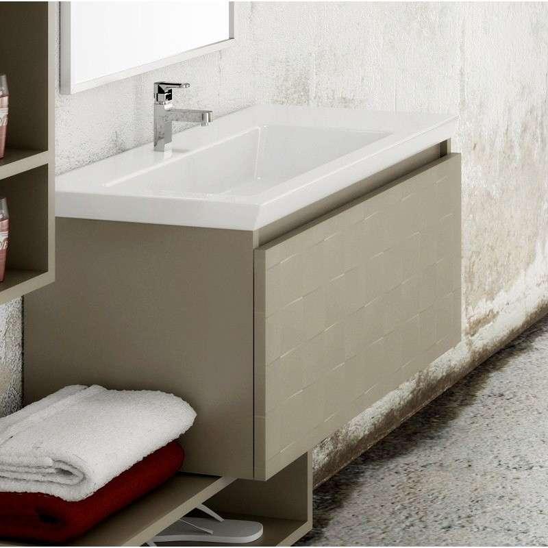Mobili bagno moderni vari colori guarda prezzi - Mobile bagno sospeso prezzi ...