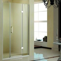 Box doccia nicchia 130cm con porta battente K015