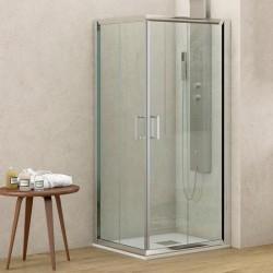Box doccia ad angolo 90x70 altezza 180cm kamalubagno