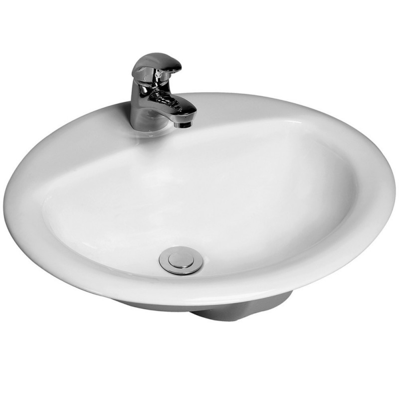 Lavabo incasso ovale economico prezzi online kamalu bagno - Lavabo bagno prezzi ...