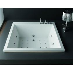 Vasca da bagno quadrata da incasso 165x165x57cm modello P-240