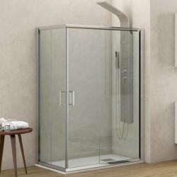 Box doccia ad angolo 140x100 altezza 180cm kamalubagno