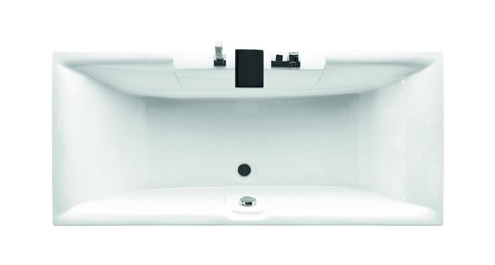 Vasca Da Bagno Rettangolare : Vasca da bagno acrilica 180x80cm prezzi online kamalu outlet