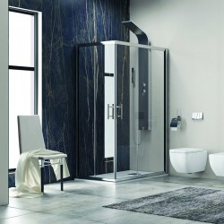 Cabina doccia 150x80 kamalubagno