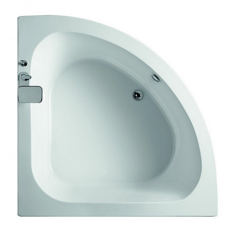 Vendita vasca da bagno semicircolare 145x145 online - Offerta | Kamalu