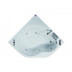 Vasca semicircolare 140x140 in acrilico kamalu bagno