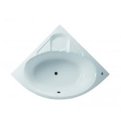 Vasca semicircolare 140x140cm modello P-269