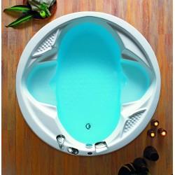 Vasca circolare kamalu bagno