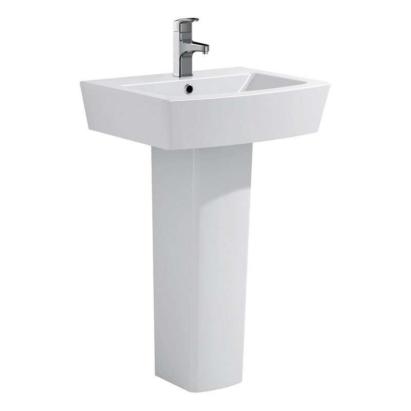 Lavabo con colonna modello aten lp kamalu bagno - Lavabo con colonna ...