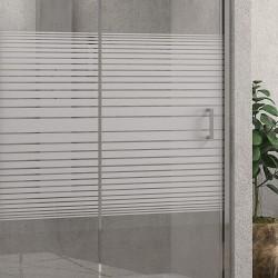 Box doccia 100X90 vetro serigrafia altezza 180cm modello K410
