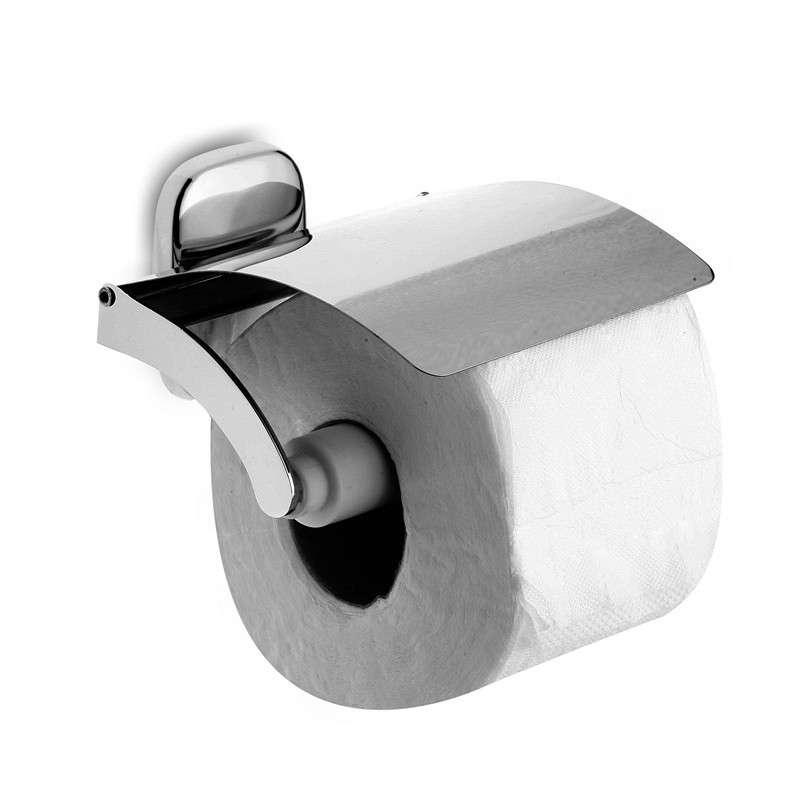 Portarotolo economico coperto ottone cromato RIA-3556 kamalu bagno
