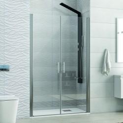 Porta doccia a due battenti 145cm trasparente KS2800 Saloon Kamalu