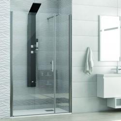 Porta doccia nicchia 90cm apertura battente KS5000 Kamalu