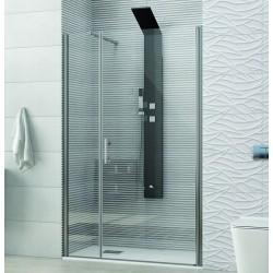 Porta doccia battente 95cm con fisso KS5000 Kamalu