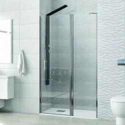 Porta doccia battente 75cm con laterale fisso KPX4000 Kamalu