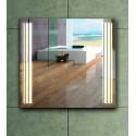 Specchio bagno 75x75 illuminazione led modello KAM-1391 kamalu