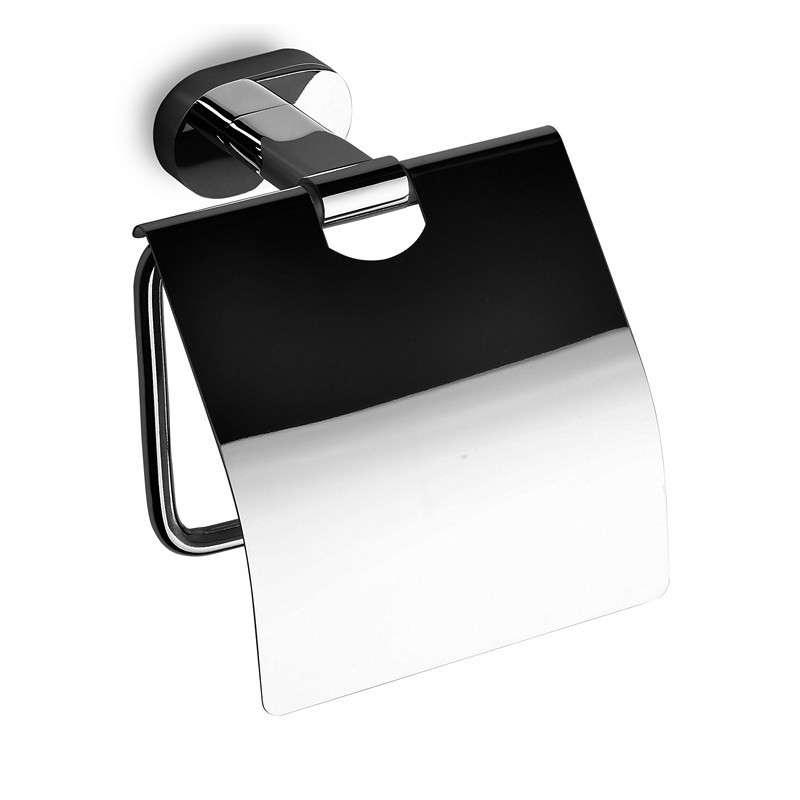 Porta rotolo ottone cromato moderno OL-3453 kamalu bagno