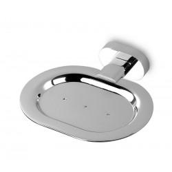 Porta sapone ottone cromato minimale OL-3456 kamalu bagno