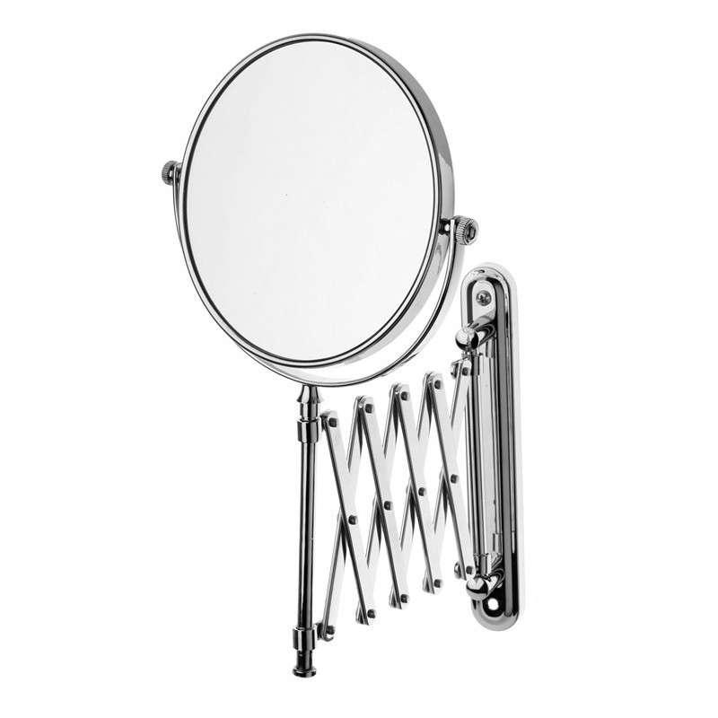 Specchio doppio ingranditore estensibile due lati 15cm KA-3593 kamalu bagno