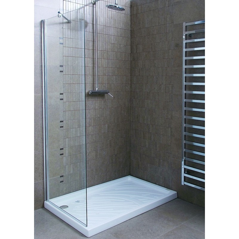 Vetro doccia walk in 70cm economico prezzi bassi - Box doccia in vetro prezzi ...